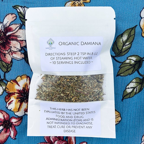 Organic Damiana