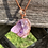 Thumbnail: Wire Wrapped Amethyst Necklace