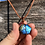 Thumbnail: Wire Wrapped Labradorite Necklace