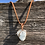 Thumbnail: Wire Wrapped Celestite Necklace