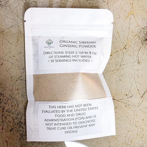 Organic Siberian Ginseng Powder