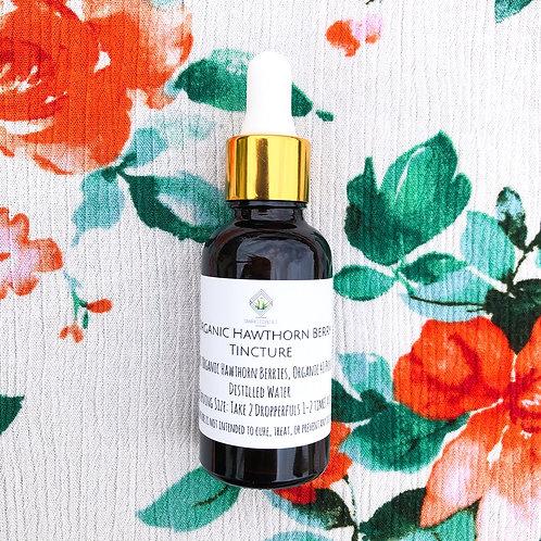 Organic Hawthorn Berry Tincture