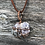 Thumbnail: Wire Wrapped Lepidolite Necklace