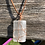 Thumbnail: Wire Wrapped Selenite Necklace