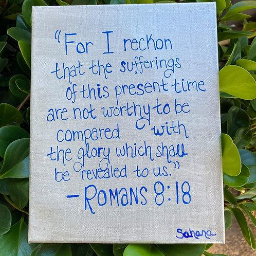 Romans 8:18 Painting