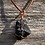 Thumbnail: Wire Wrapped Shungite Necklace