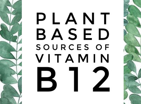 Where do you get Vitamin B12 in a vegan plant-based diet?