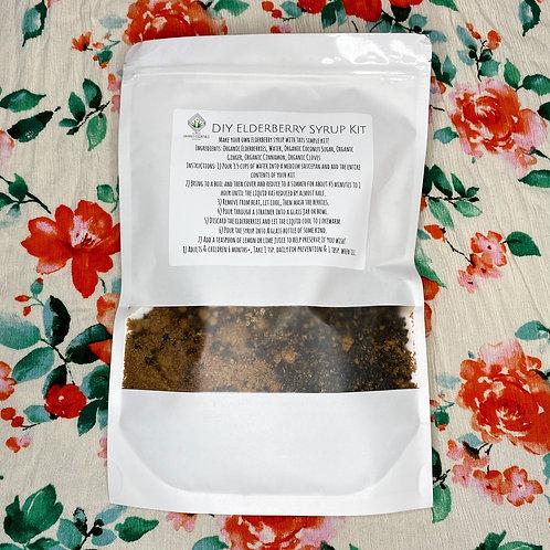 DIY Organic Elderberry Syrup Kit