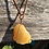 Thumbnail: Wire Wrapped Orange Calcite Necklace