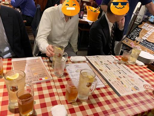 仕事の後の飲み会が最高になるチーム、ここにあり!