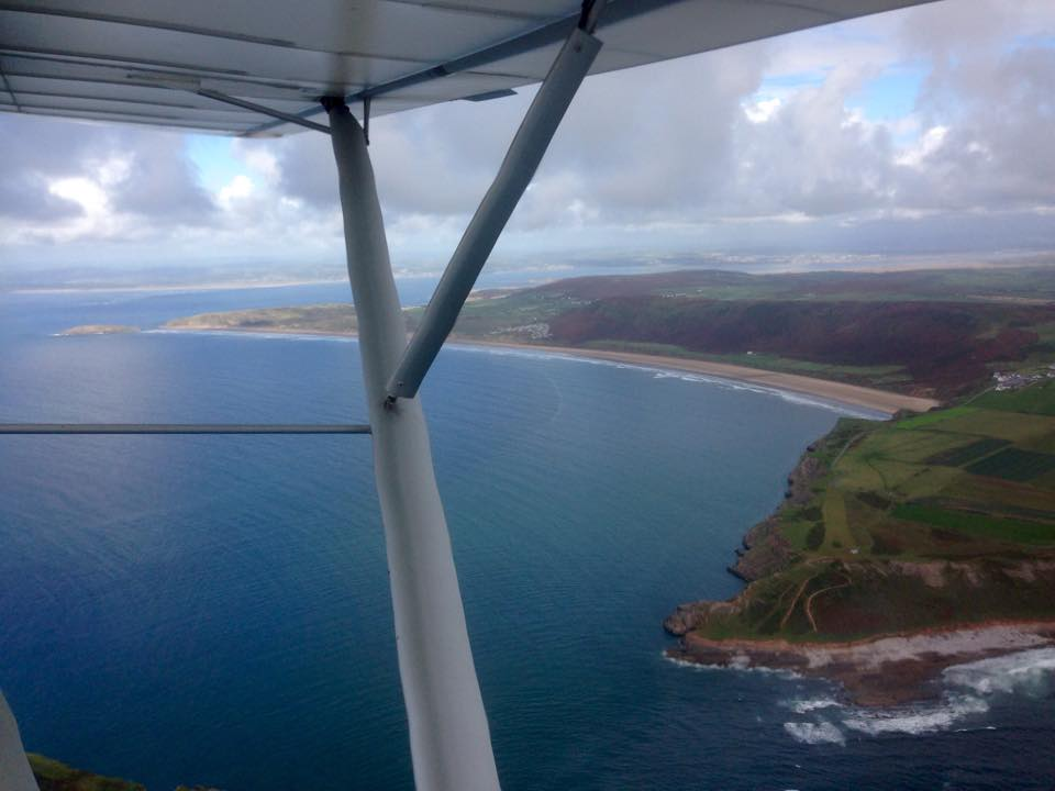 Rhosilli from 2000ft.