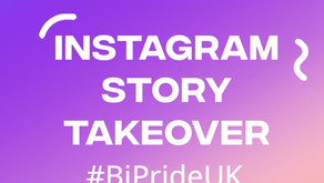 Bi Pride UK - Instagram Takeover