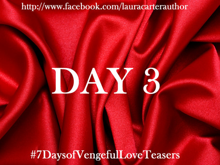 Day 3: 7 Days of Vengeful Love Teasers