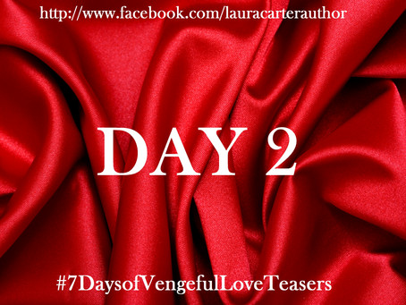 Day 2: 7 Days of Vengeful Love Teasers