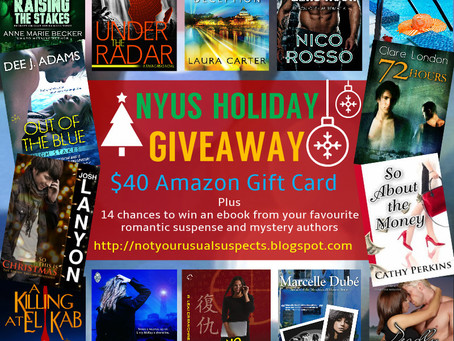 NOT YOUR USUAL SUSPECTS     HOLIDAY GIVEAWAY