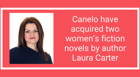 Announcement: Laura Carter new two book deal with Canelo