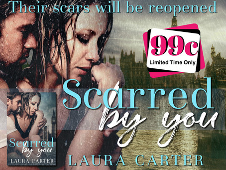 NEW 3 BOOK DEAL & SCARRED BY YOU ONLY 99c!