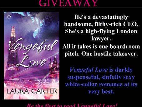 GIVEAWAY - Be the First to Read Vengeful Love
