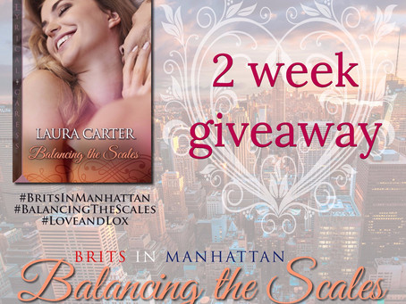 2 WEEK COUNTDOWN BALANCING THE SCALES PAPERBACK GIVEAWAY