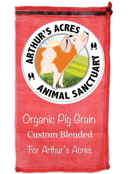 Arthurs Acres Farm Pig SanctuaryBlend