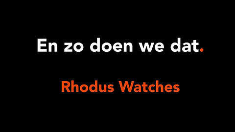 Rhodus Watches