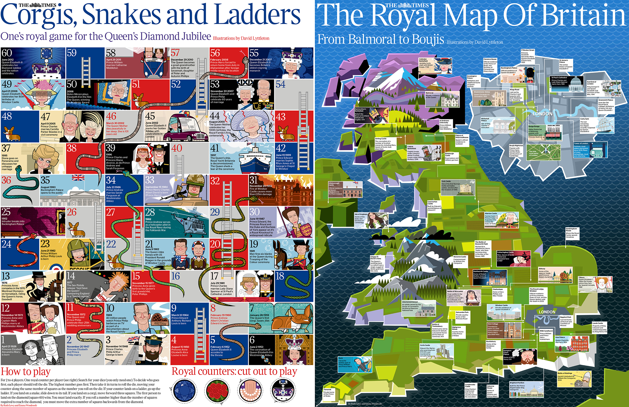 The Times Royal Poster 2, double-sided