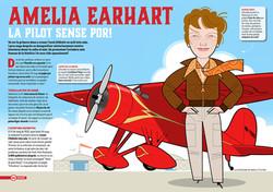 Petit Sapiens magazine 'Amelia Earhart'