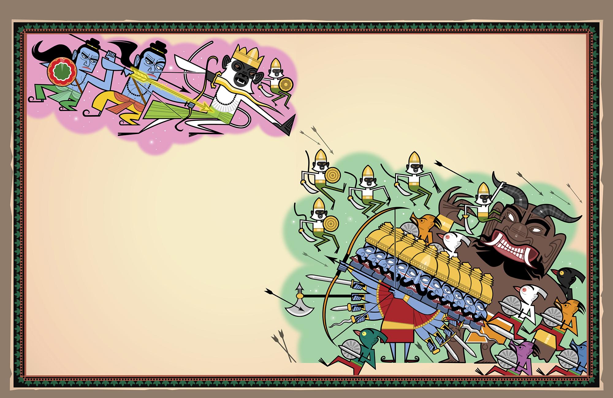 Legendary 'Rama and Sita'