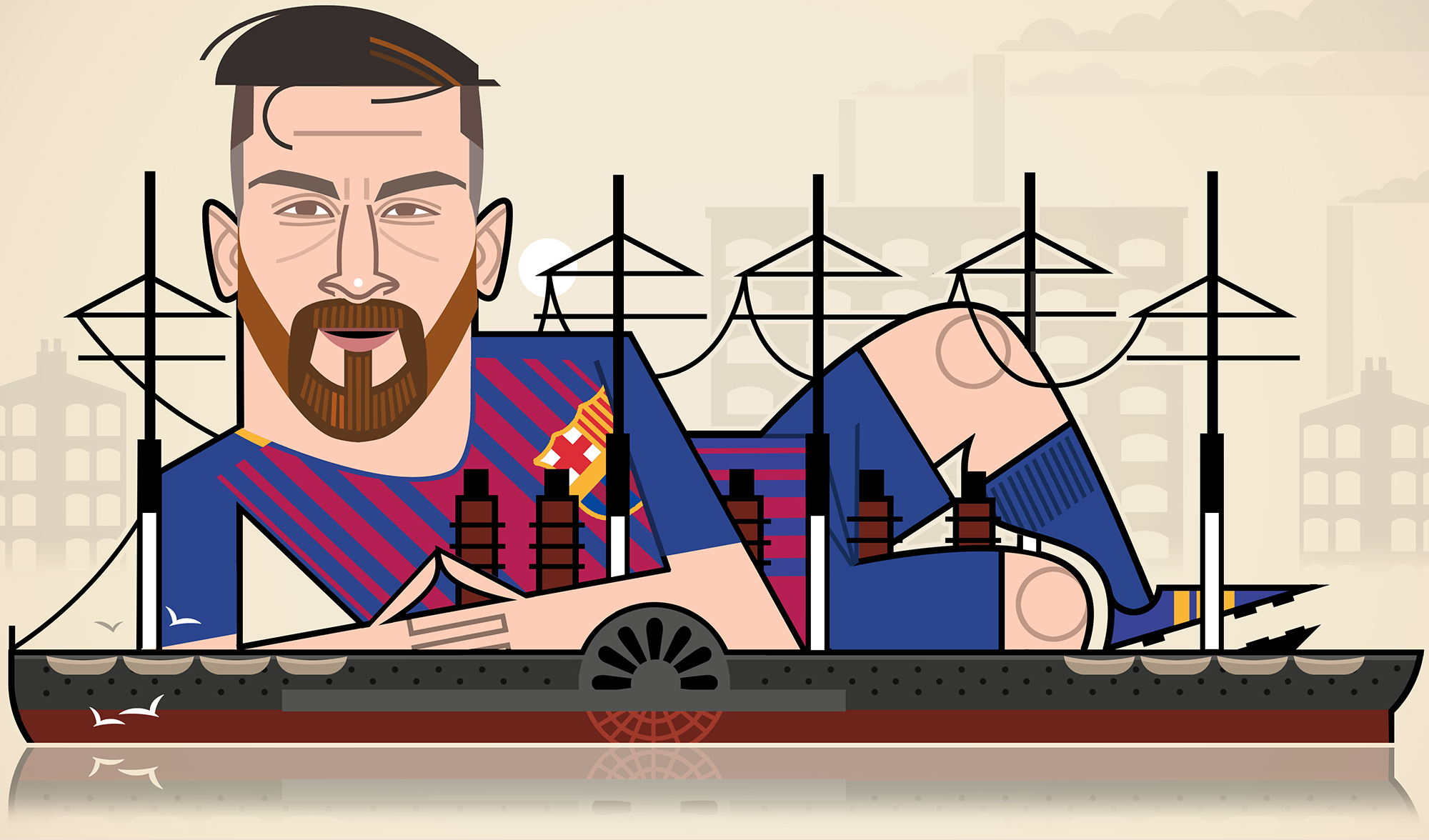 The Guardian 'Messi'
