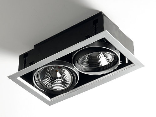 RECESSED FIXTURES WITH LED AR111 - 2x