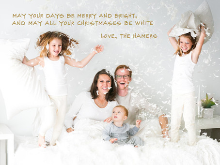 Merry Christmas and a Happy New Year from our family to yours!