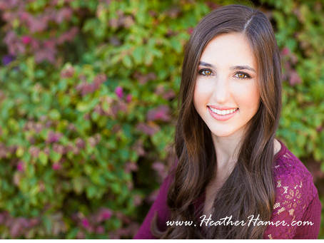 Sarah – Santa Maria Senior Portraits