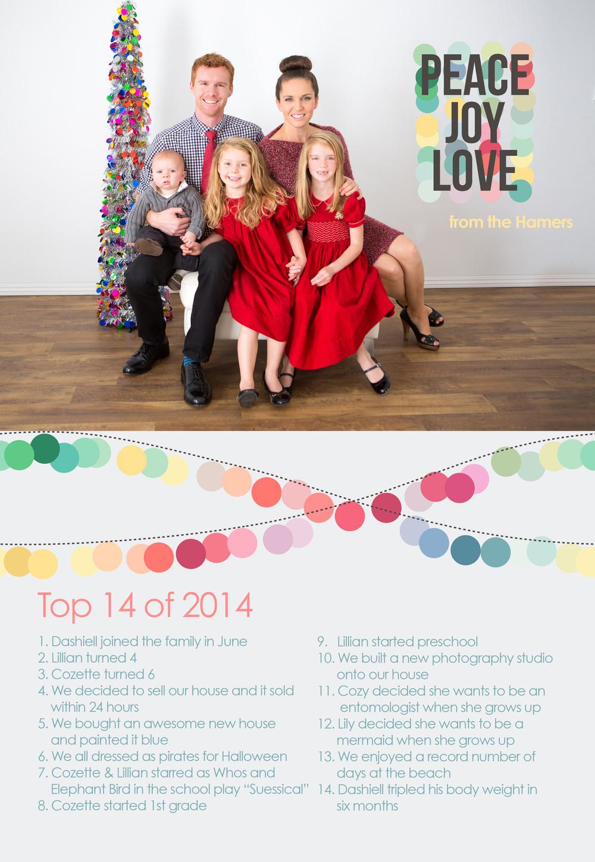 Family Portrait Christmas Card Studio