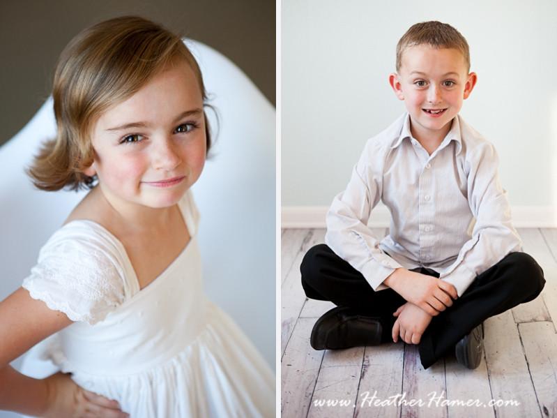 Santa Maria Childrens portraits