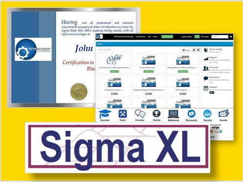 RPM-Online-SigmaXL-Certification Bundle