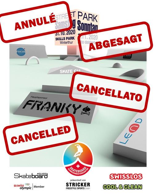 Championnat Suisse - annulé