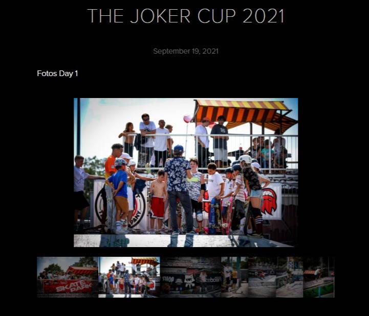 Fotogallerie The Joker Cup 2021
