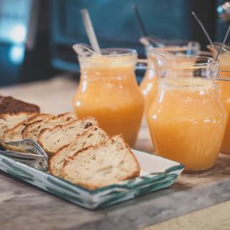 Pensao das Dunas Breakfast Fresh Orange juice