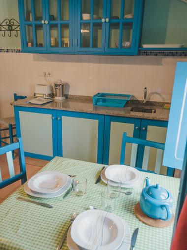 Pensao das Dunas Apartment Kitchen