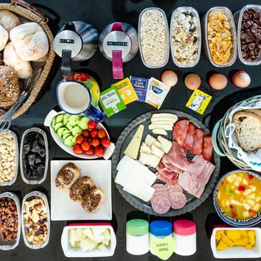 Pensao das Dunas Breakfast buffet