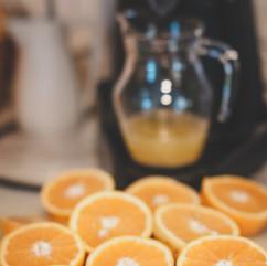 Breakfast Pensao das Dunas Orange Juice Homemade
