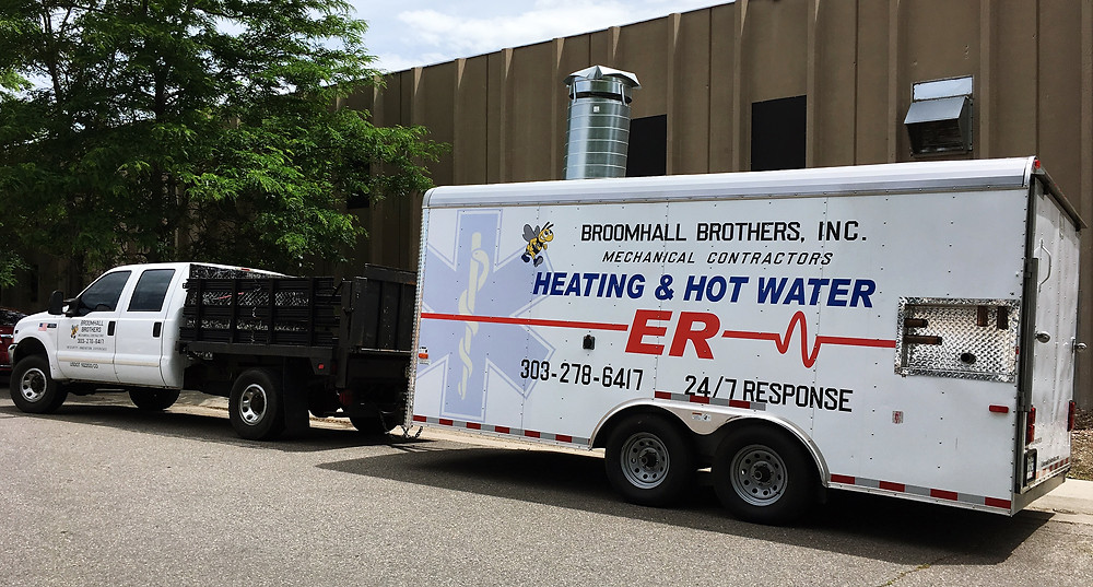 Mobile Boiler Solutions for Emergency Commercial Heat and Hot Water in the Denver metro area