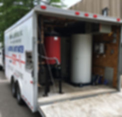 Emergency mobile boiler for heat and hot water in Denver Colorado