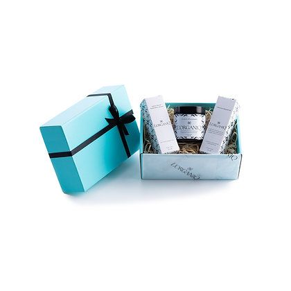 Shave Balm, Serum & Beard Oil Gift Box