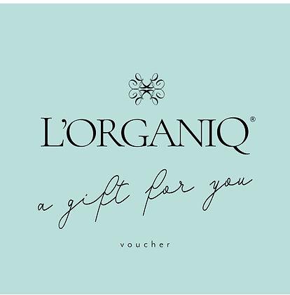 L'Organiq £100 Gift Voucher