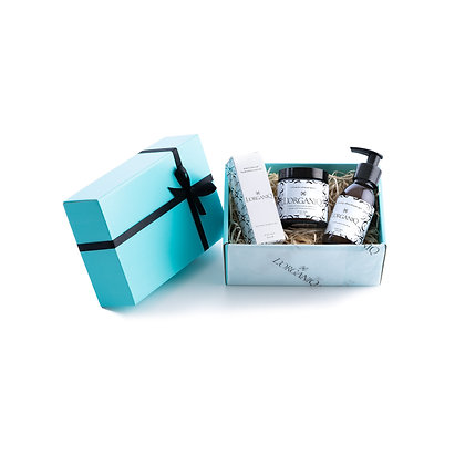 Shave Balm, Serum & Aftershave Gel Gift Box