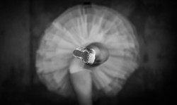 Ballerina close up