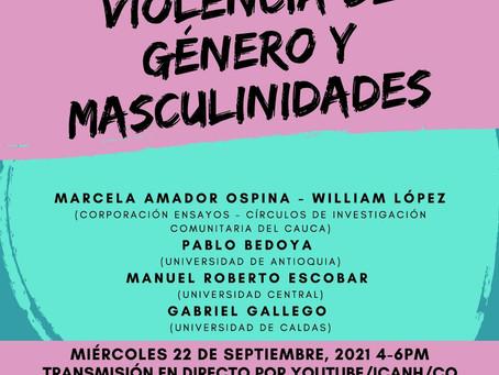 """Conversatorio """"Violencia de género y masculinidades"""""""