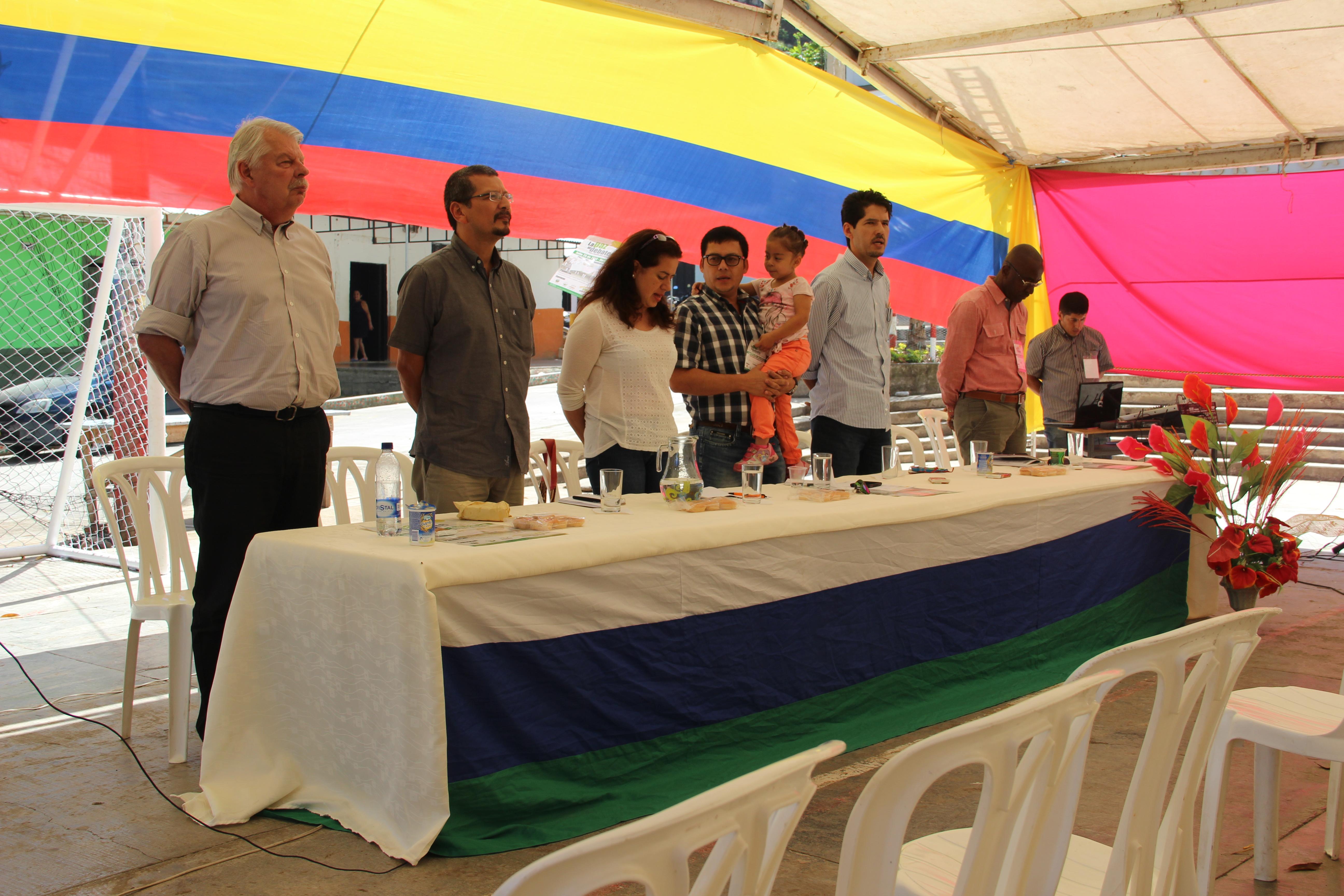 Foro de paz Sucre - Colombia