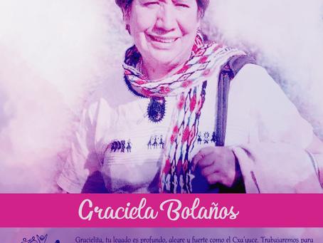 Graciela Bolaños: ¡Hasta que se apague el sol!